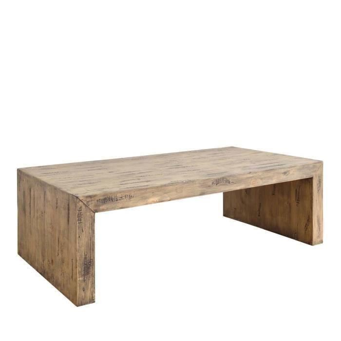 Table basse rectangulaire bois but
