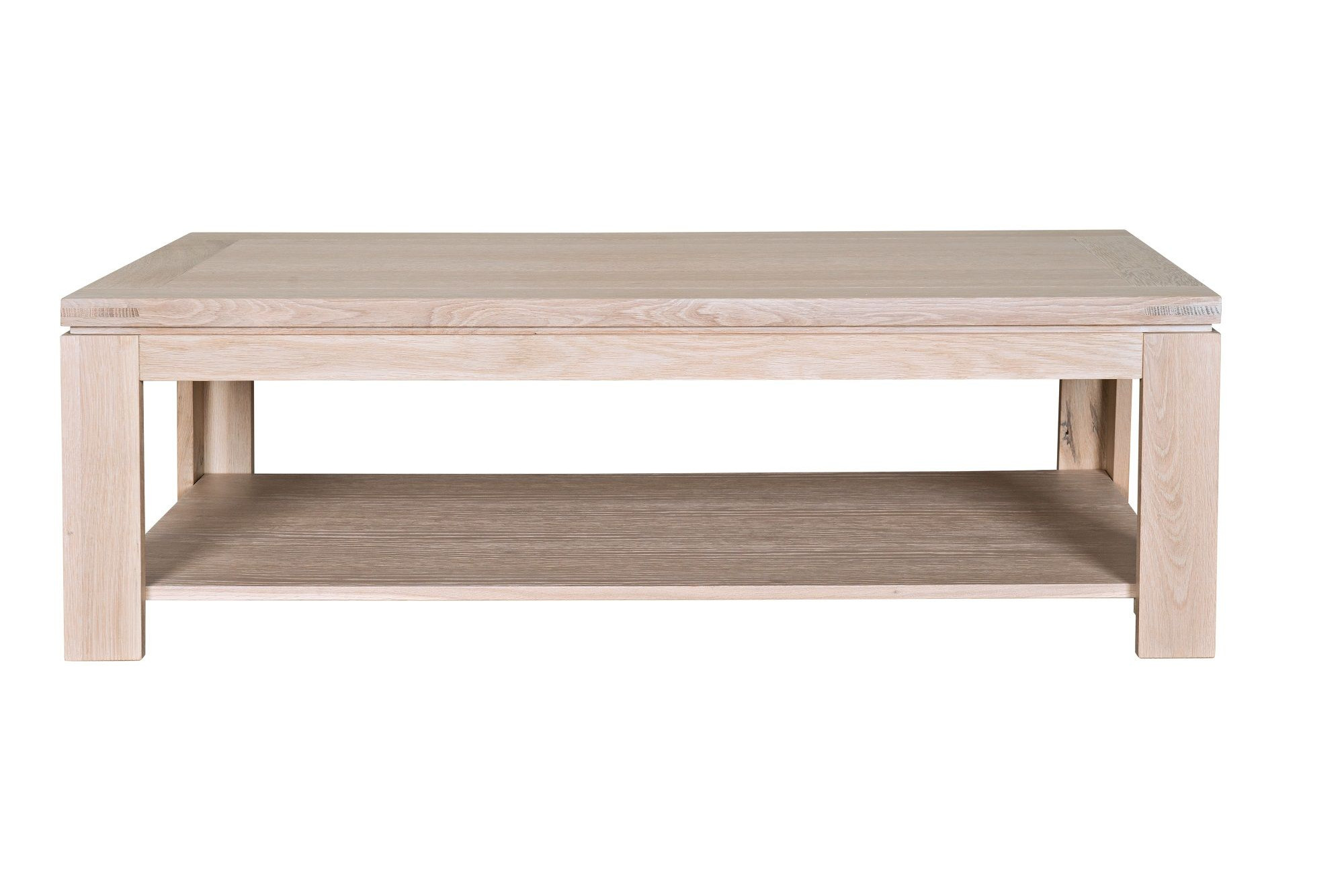 Table basse rectangle bois
