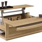Table basse bois bar