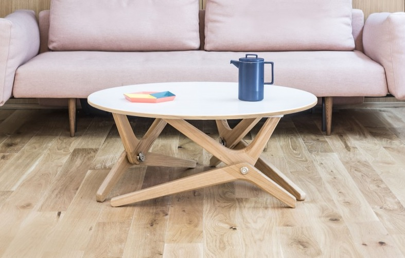 Table relevable basse
