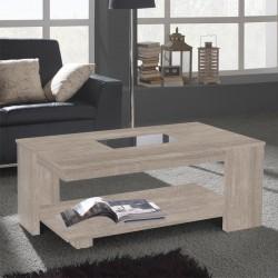 Table basse plateau relevable 120 cm