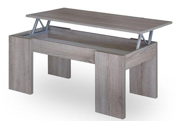 Table basse avec plateau relevable groupon