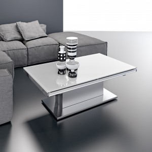 Table basse relevable extensible erika