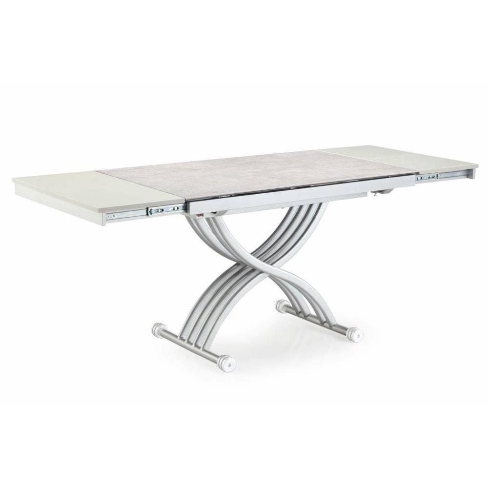 Table basse relevable ceramique