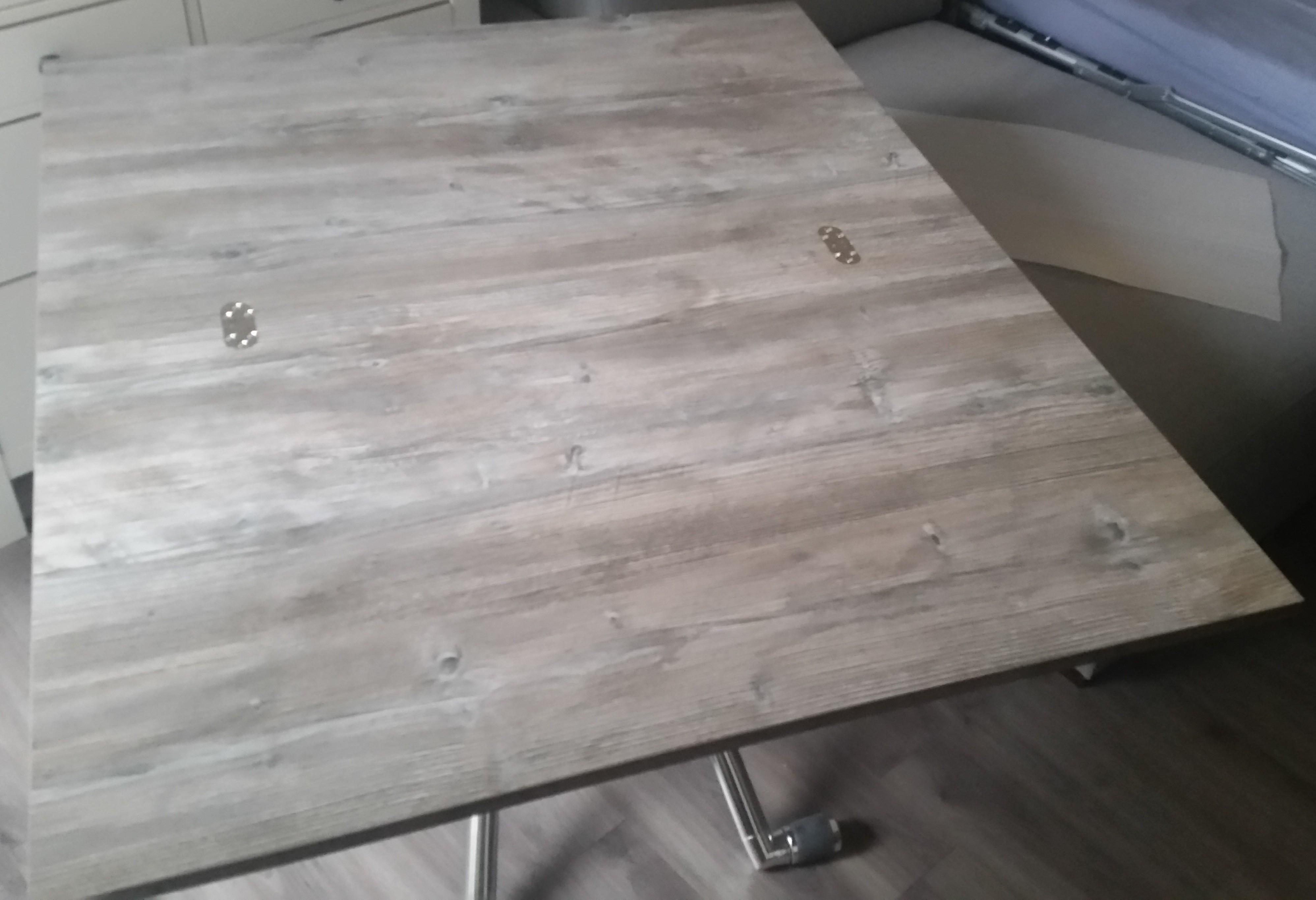 Table basse relevable ozzio
