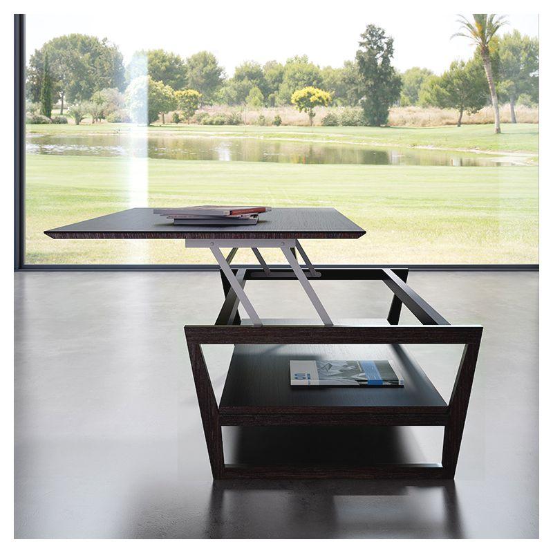 Table basse moderne relevable