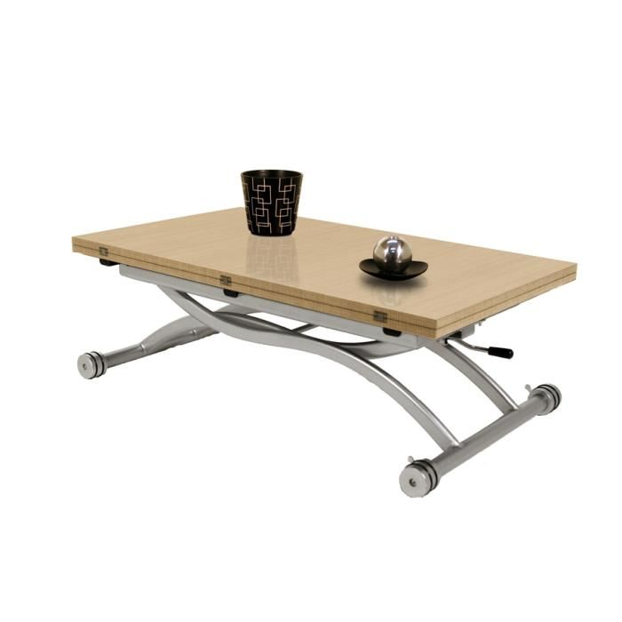 Table basse relevable higher