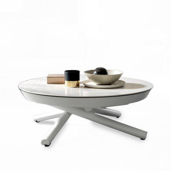Table basse relevable plateau ceramique