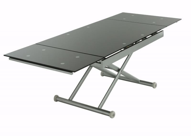 Table basse avec plateau relevable bois