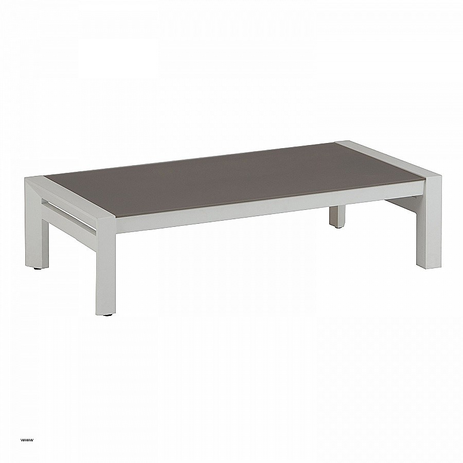 Table basse relevable reality verre gris gris