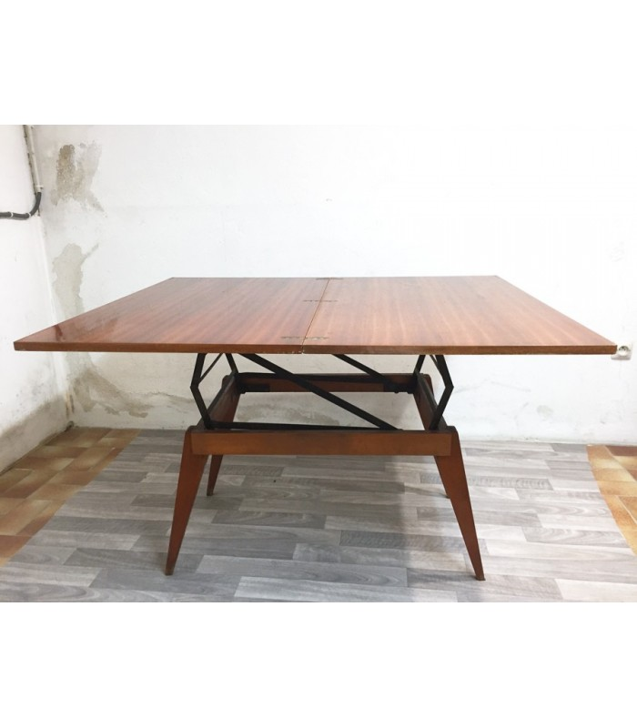 Table basse pied relevable