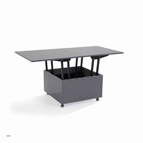 Dimension table basse relevable