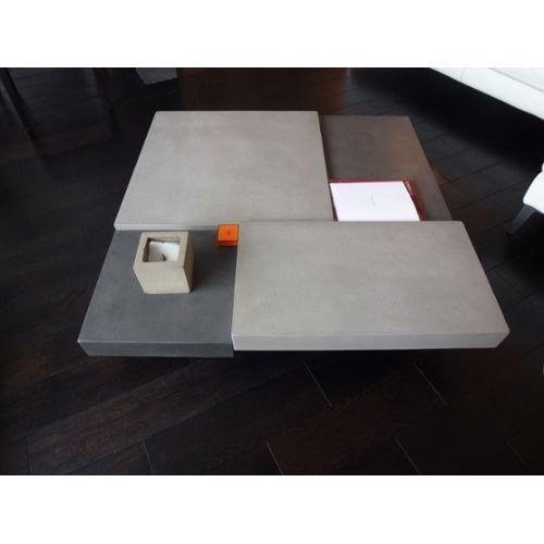 Table basse carrée vintage