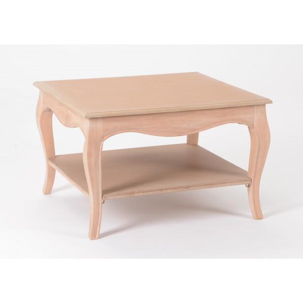 Peinture table basse bois