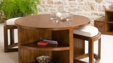 Table basse avec pouf le bon coin