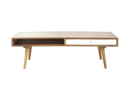 Table basse scandinave tiroirs