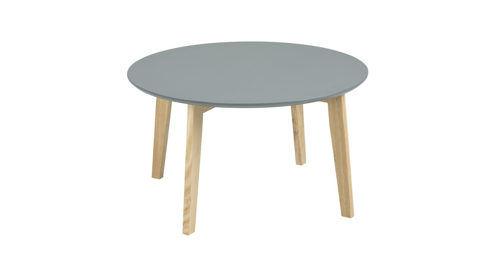 Table basse style scandinave grise