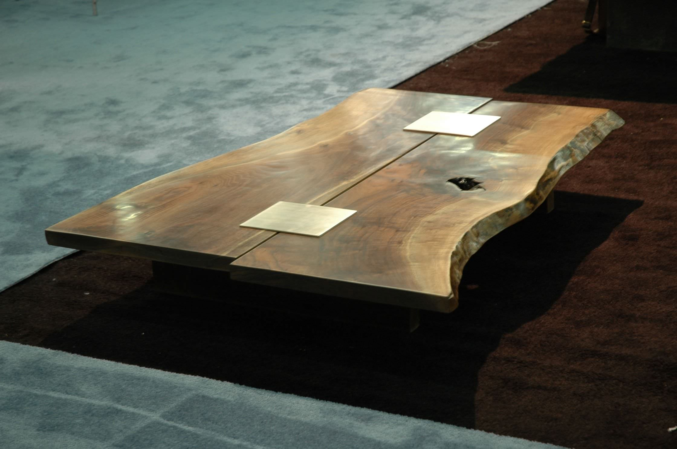 Table basse de salon bois design