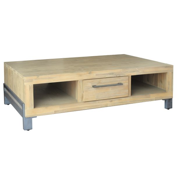 Table basse scandinave naturel