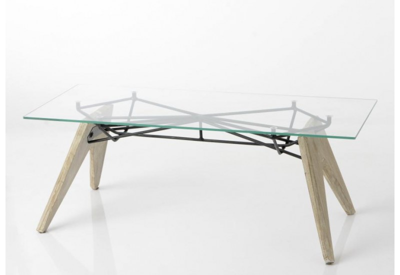 Table basse scandinave plateau