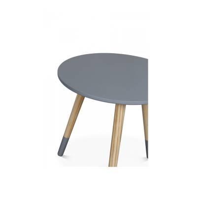Table basse scandinave coffre