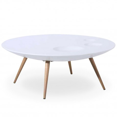 Table scandinave basse pas cher