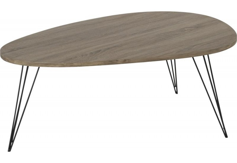 Table basse en métal scandinave