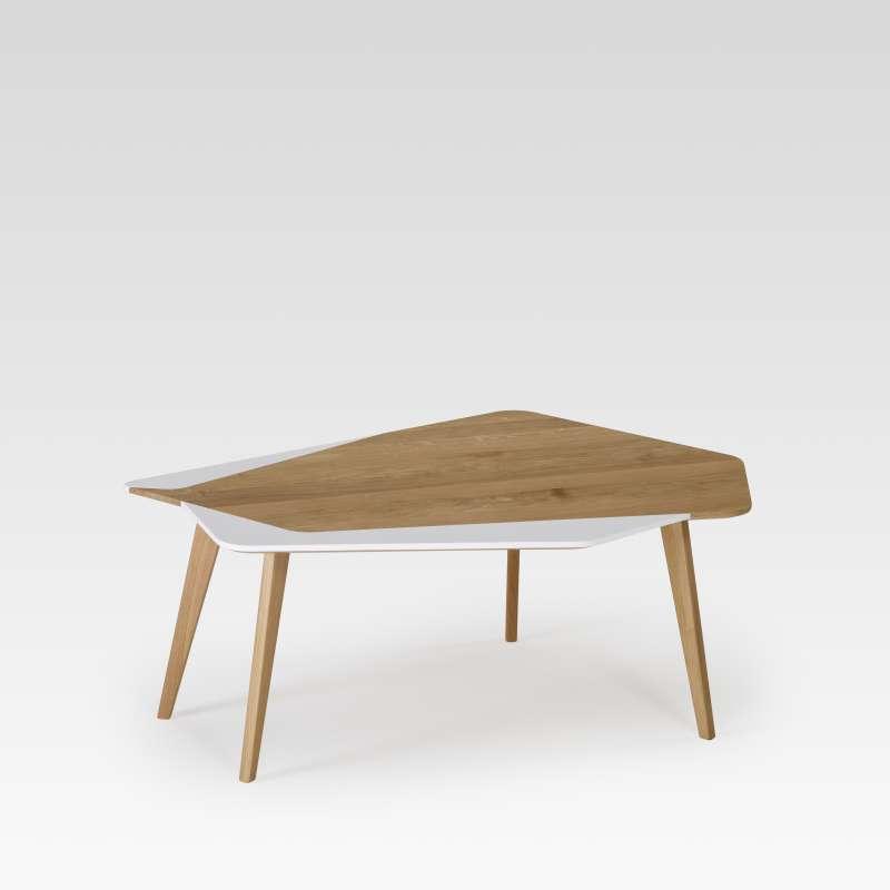 Table basse en bois scandinave