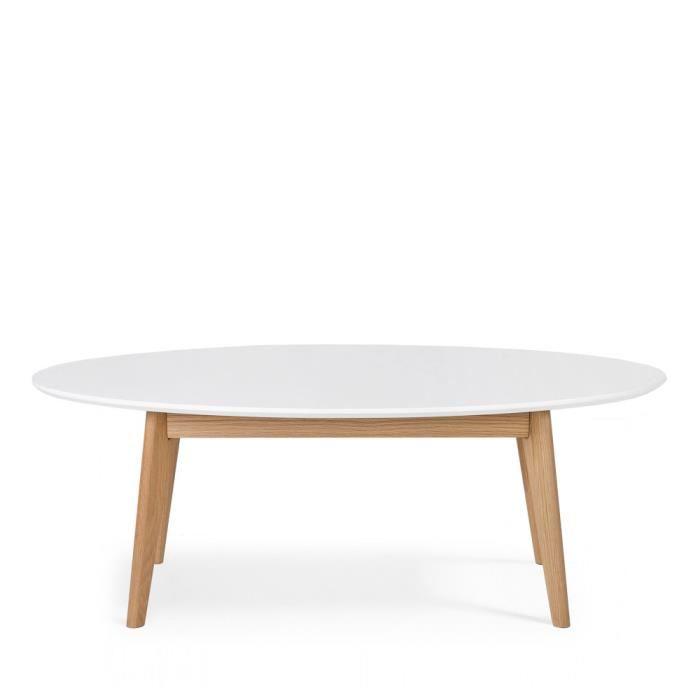 Table basse scandinave de couleur