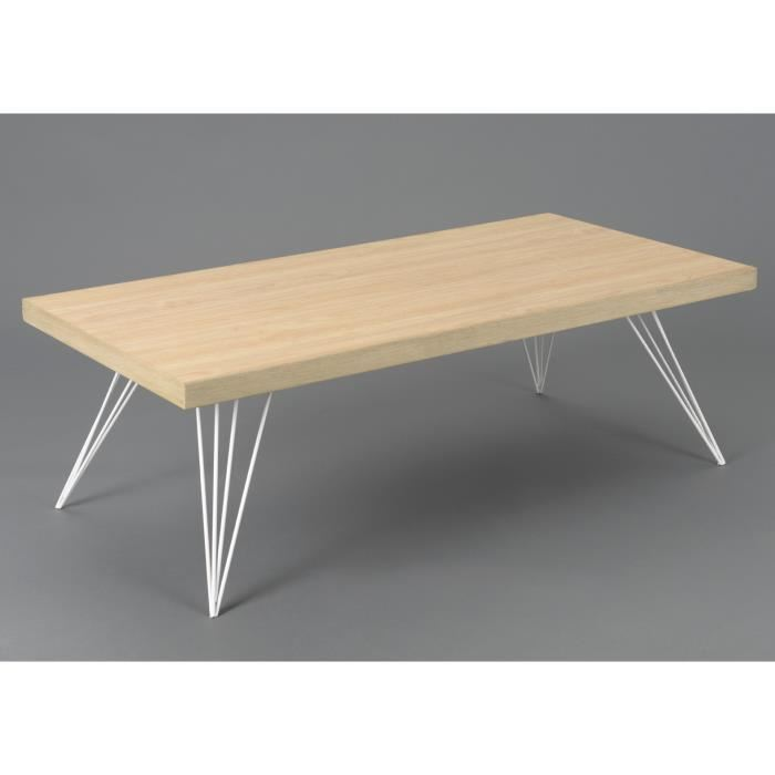 Table basse scandinave en solde