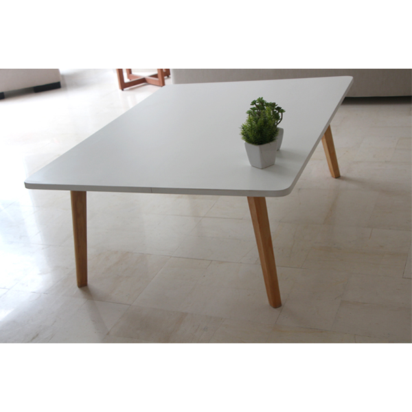 Table basse rectangle scandinave