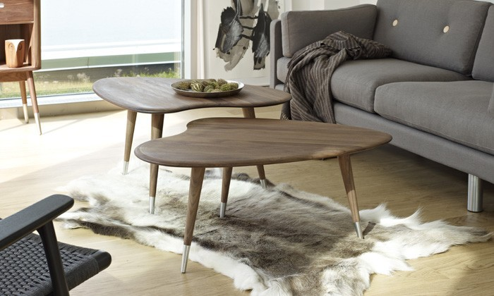 Table basse déco scandinave