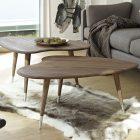 Table basse salon scandinave