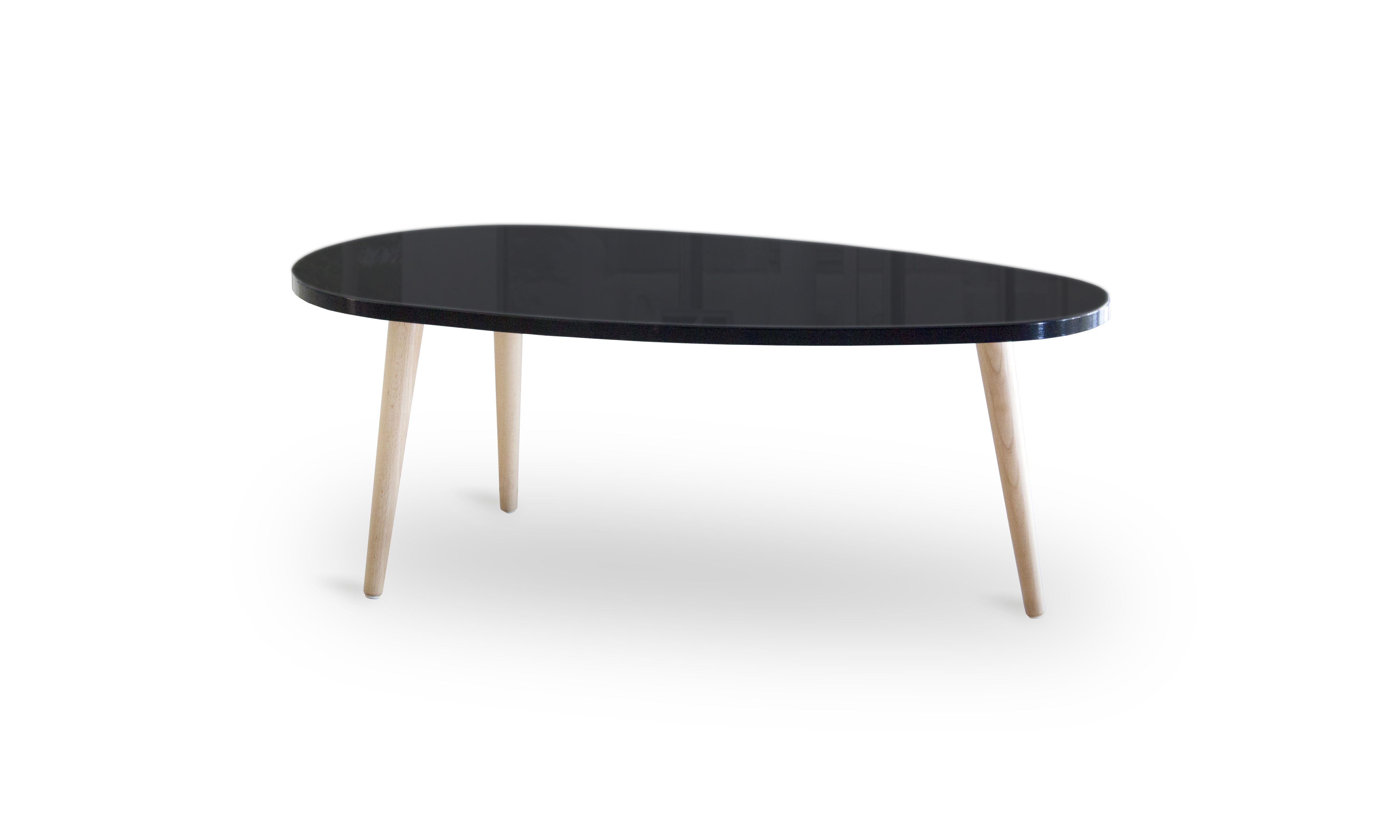 Table basse scandinave blanche pas chere