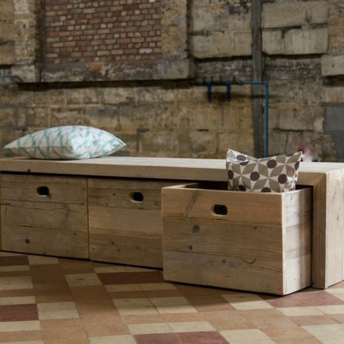 Table basse en bois décor san remo