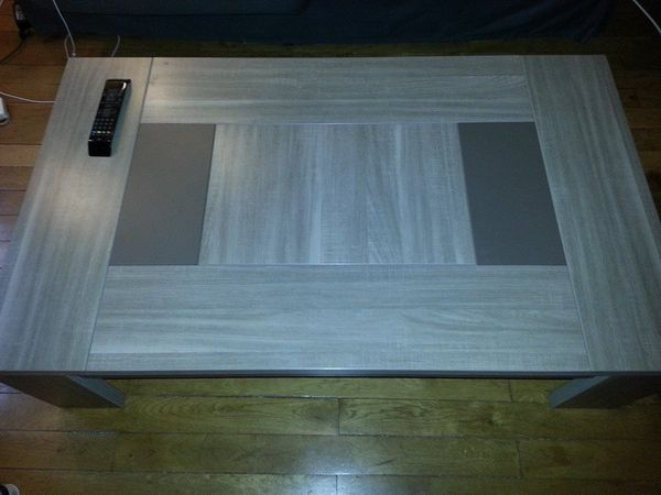 Table basse conforama grise mobilier design d coration d 39 int rieur - Table grise conforama ...
