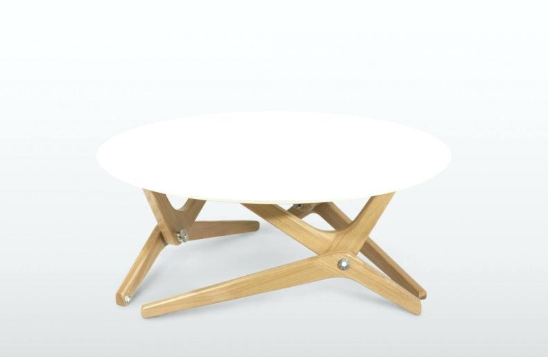 Table basse bois transformable en table haute