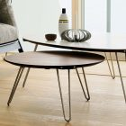Pied pour table basse scandinave