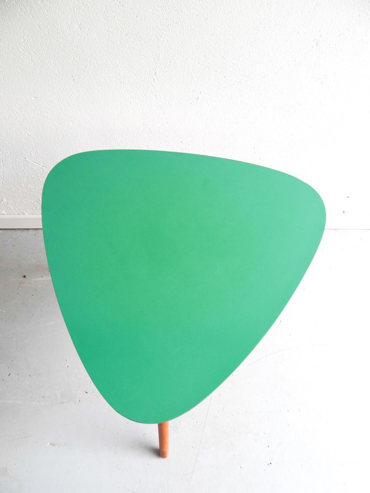 Table basse scandinave verte