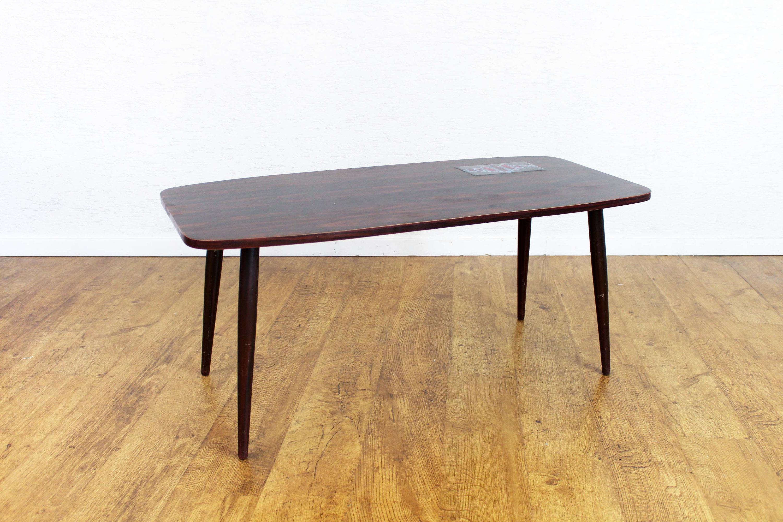 Table basse vintage en bois