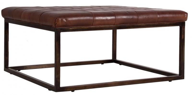 Table basse vintage marron