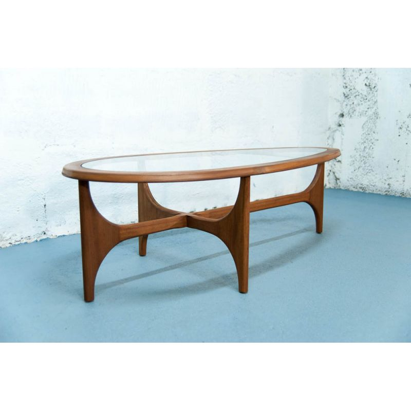 Table basse vintage style scandinave