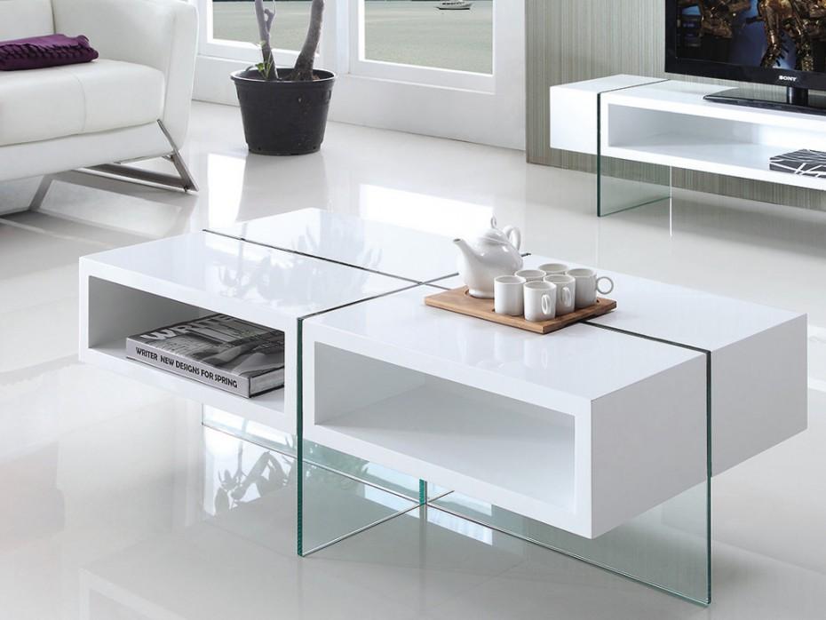 Vente unique table basse relevable