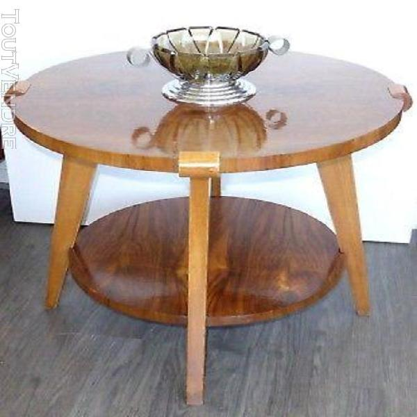 Table basse bois blond