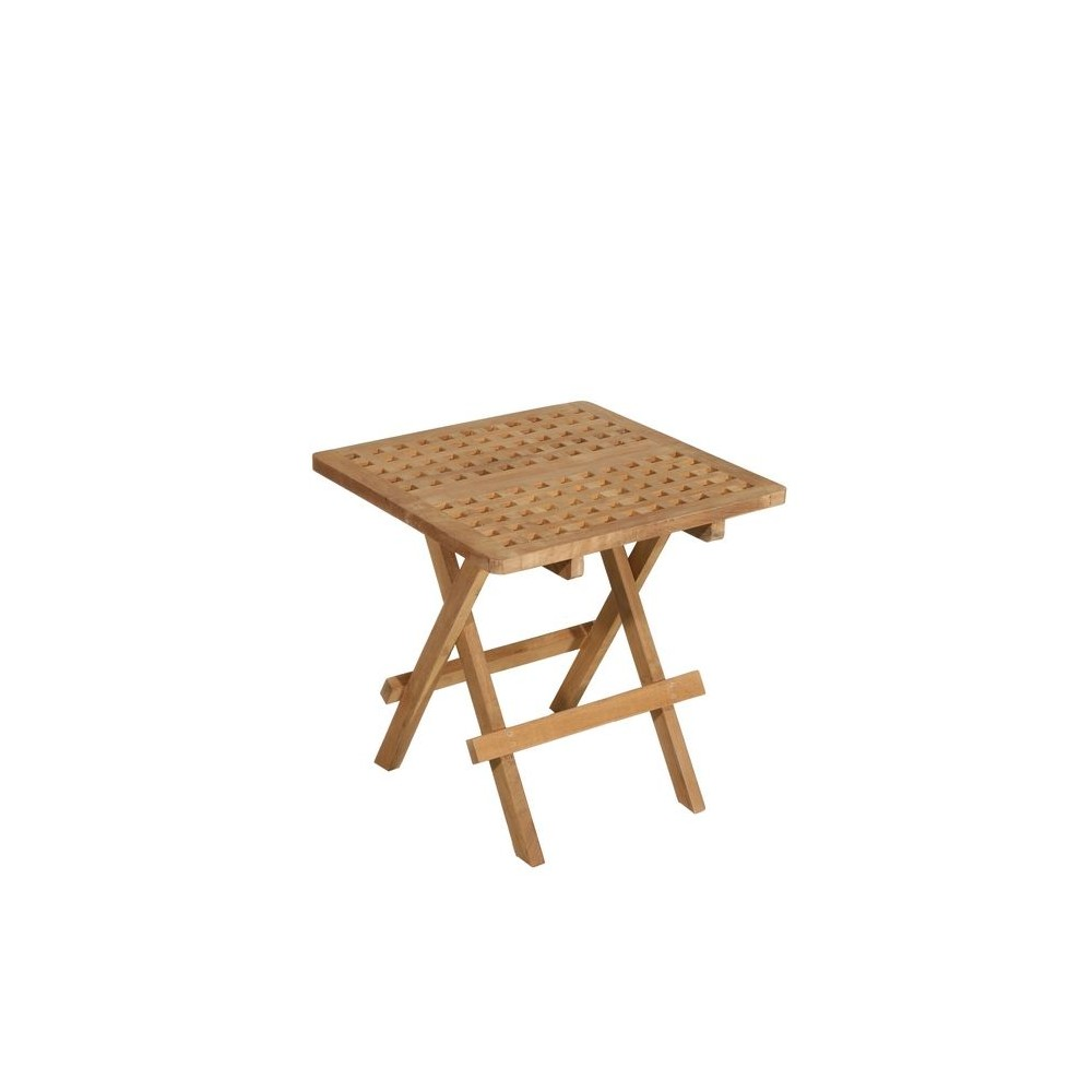 Table basse exterieur bois exotique