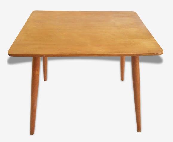 Table basse en bois enfant