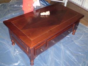 Comment renover table basse en bois