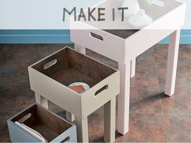 Fabriquer une table basse gigogne