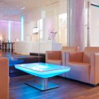 Table basse lumineuse pas cher