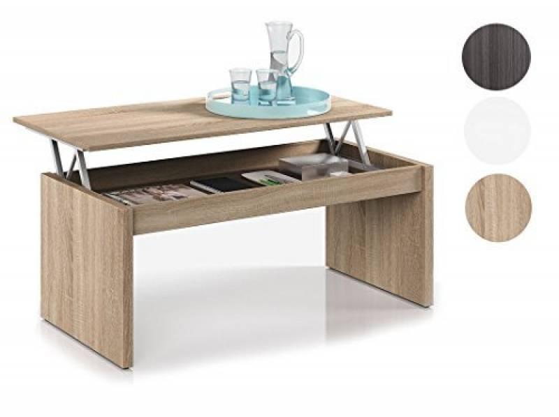 Table basse load plateau relevable